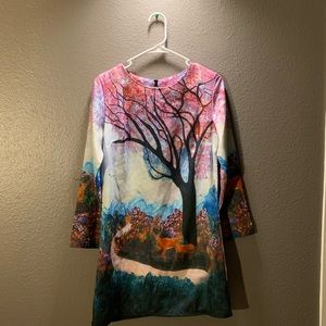 Dresses & Skirts - Colorful nature themed dress